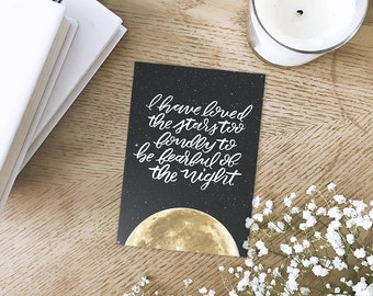 Of the Night - Art Print