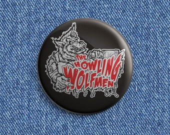 The Howling Wolfmen Psychobilly button