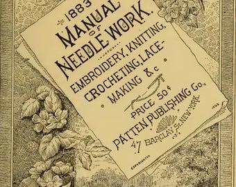 Vintage Manual of needlework