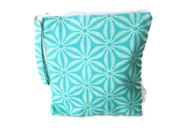 Turquoise wet bag