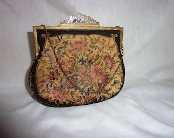 "Vintage Petit' Point Purse ""made in Austria"""