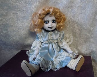 Small Creepy Doll #81 no doll stand included