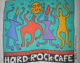 Vintage HARD ROCK CAFE Rock and Roll Forever Art T Shirt