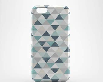 Pastel Geometric Hard case 3D case Apple iPhone 4 5 6 7 Samsung Galaxy S6 S7  #168