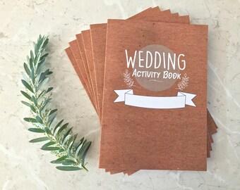6 x Kids Wedding Activity Books - Wedding Activities, Games Puzzles & More