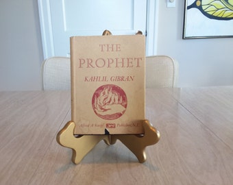 """Vintage Kahil Gibran Edition of """"The Prophet""""  1967 Hardcover"""