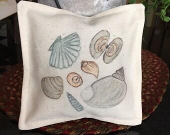 Sachet, sachet gift, lavender sachet, hand painted sachet, watercolor sachet, pretty sachet, mother friend teacher get well  any occasion