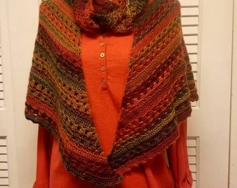 Shawl, Scarf & Hat Set
