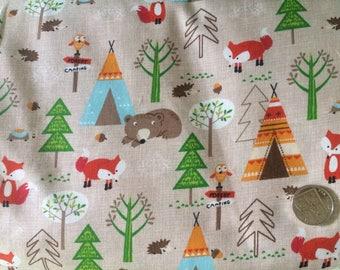 Autumn Woodland Fabric