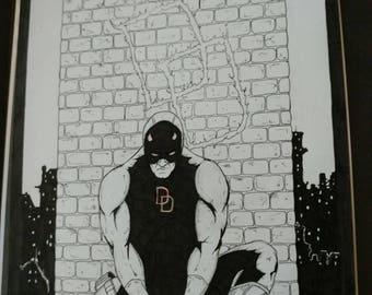 Daredevil original art