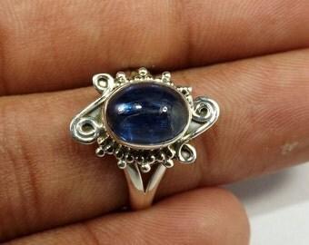 Kynite Ring, Kynite Gemstone, Silver Ring, Designer Ring, 925 Sterling Silver, Fine Silver Ring, Black Friday Sale, Ring, Wedding Ring,