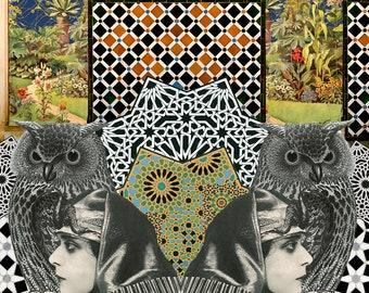 Limited edition digital print - Arabesque Magic #5