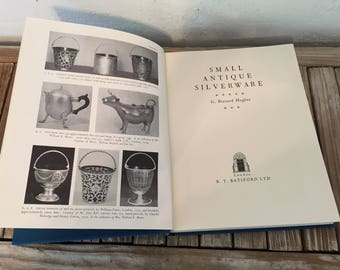 "Vintage Book Titled ""Small Antique Silverware"" by G. Bernard Hughes"