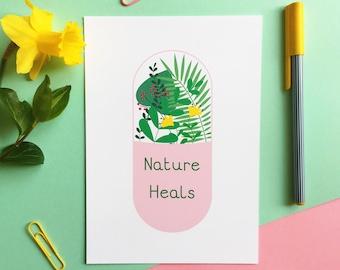 Nature Heals Print