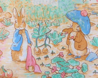 Beatrix Potter fabric, Peter Rabbit fabric