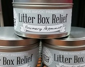 Litter Box Relief Candle