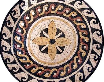 Decorative Tiles Artwork - Mykonos