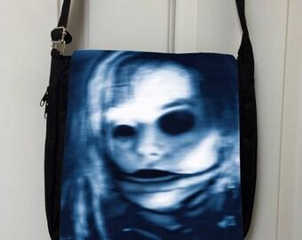 fear dot com Inspired Messenger Bag / Purse