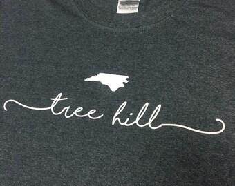 Tree Hill North Carolina T Shirt - One Tree Hill Clothing