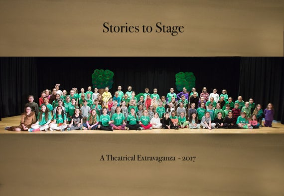 Stories to Stage 8 x 10 Color Photograph