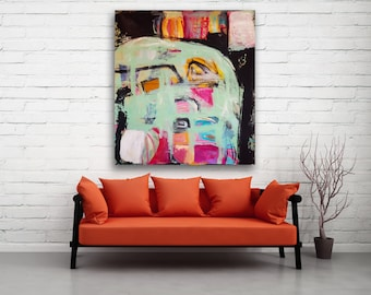 Contemporary Painting, Abstract Wall Art, Abstract Painting, Abstract Art, Large Abstract, FIne Art, Original Wall Art, Colorful, Modern Art