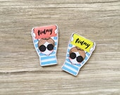 Miss Lily Shades magnetic bookmark