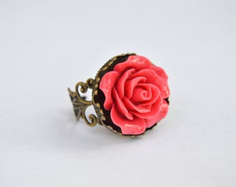 Enchanted Rose Ring