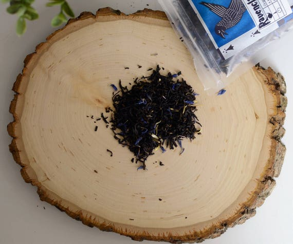 Ravenclaw Loose Tea Blend - Earl Grey, Vanilla, Bergamot, Cornflower Petals | Harry Potter Inspired