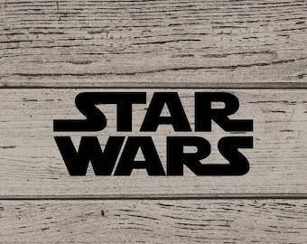 Star Wars Inspired Decal, Star Wars Vinyl, Star Wars Decal, Decal for Him, Star Wars Sticker, Star Wars