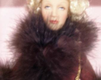Movie Star Marlene Dietrich Doll by Madame Alexander – Movie Shanghai Express - NRFB
