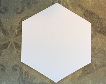 """2"""" Hexagon For English Paper Piecing Shapes by All Quilty Choose Package Size"""