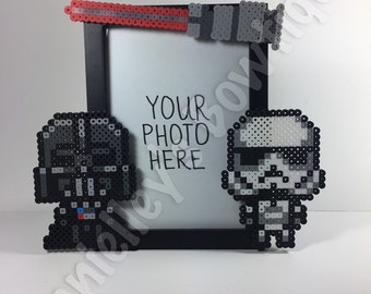 Star Wars Picture Frame/Pixel Bead Art/Wedding/Housewarming/Birthday Gift/Disney Theme