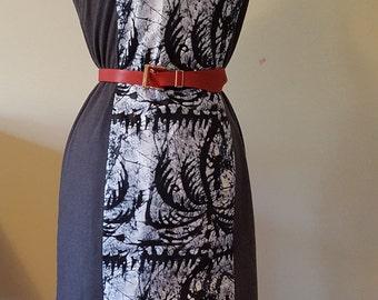 African Batik dress