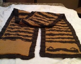man's movember scarf