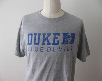 Duke University Blue Devils t-shirt shirt Adult XL