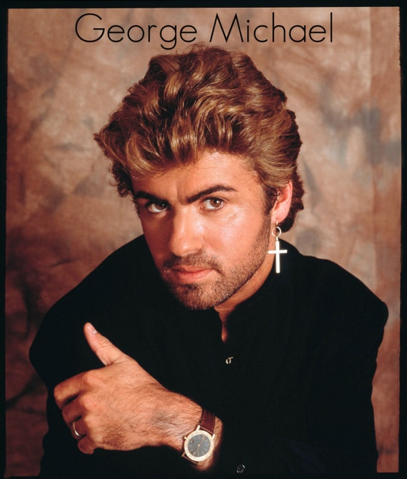 "George Michael Singer, RIP Legendery Star, New High-Resolution Picture, Unique Art Hot Wall Decor Print, Poster Size 13x20"" 24x36"" 32x48"" #1"