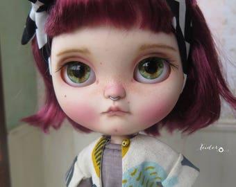 "RESERVED-OOAK custom Icy doll-art doll ""Amagoia"" by Xeiderdolls"