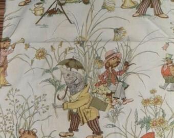 Rare 1960's Mr Mole Fabric