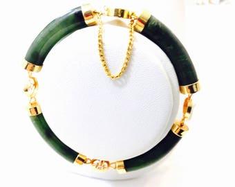 14 Carat gold plated Oriental Bracelet