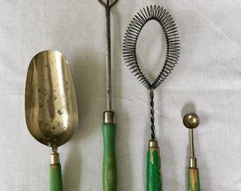 Vintage kitchen tool lot