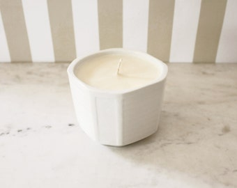 Rosemary + Patchouli Handmade Soy Blend Candle
