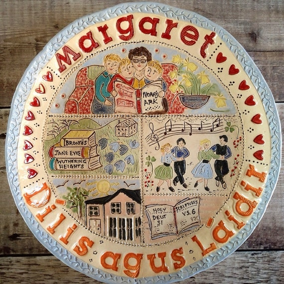 Handmade Personalised Ceramic Bowl