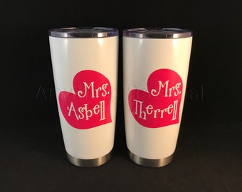 Personalized Stainless Steel Cup, Stainless Steel Tumbler, Personalized Cup, Personalized Gift, Teacher Gift, Personalized Tumbler, Teacher