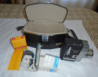 Bell & Howell 8 mm Camera.  director series camera.  Home movie camera.  Vintage Home movie camera. Director series.