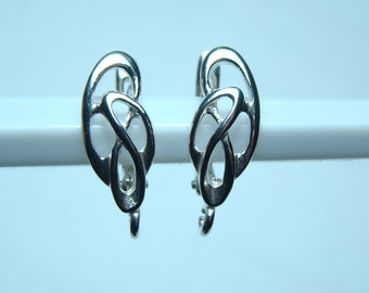 Leverback Earrings Sterling Silver ,material sterling silver, Leverback Earrings Sterling Silver 925, Leverback Earrings, n:B24