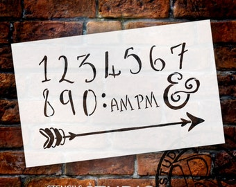Wedding Sign Word - Numerals & Embellishments - Fancy Funky - Select Size- STCL1631 - by StudioR12