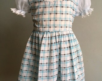 Vintage Girl's Dress, Patricia Ann Deadstock Dress