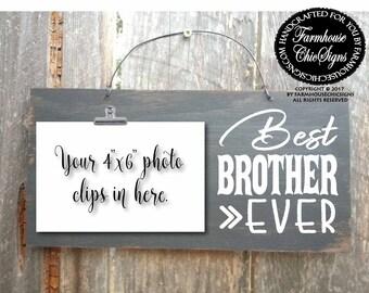 brother, gift for brother, brother sign, brother gifts, best brother, best brother ever, world's best brother, brother sign, 277