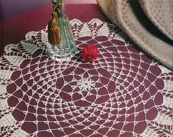 Crochet doily pattern PDF digital download