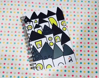 Busy Bird Notebook